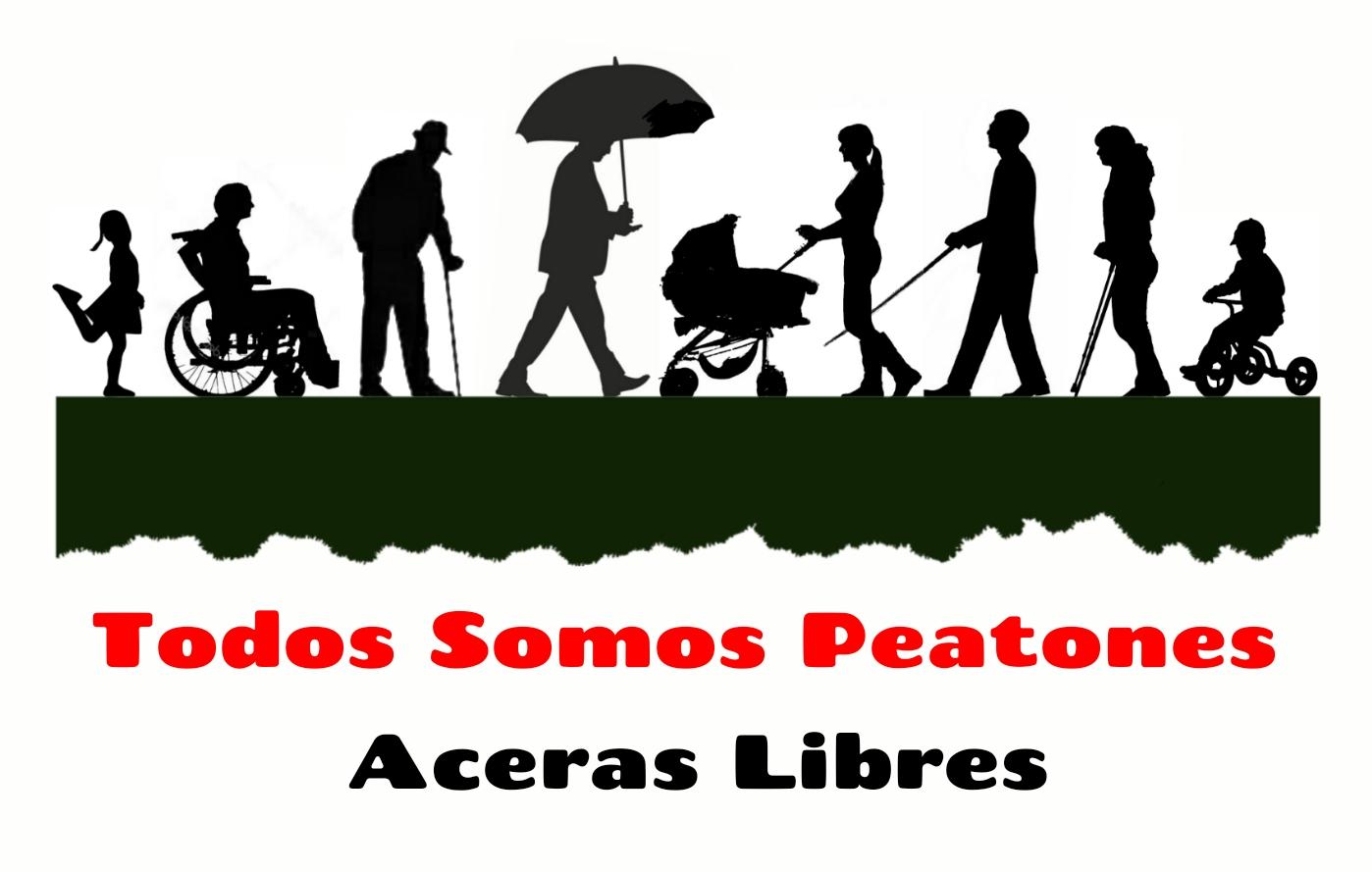 Aceras Peatones Libres