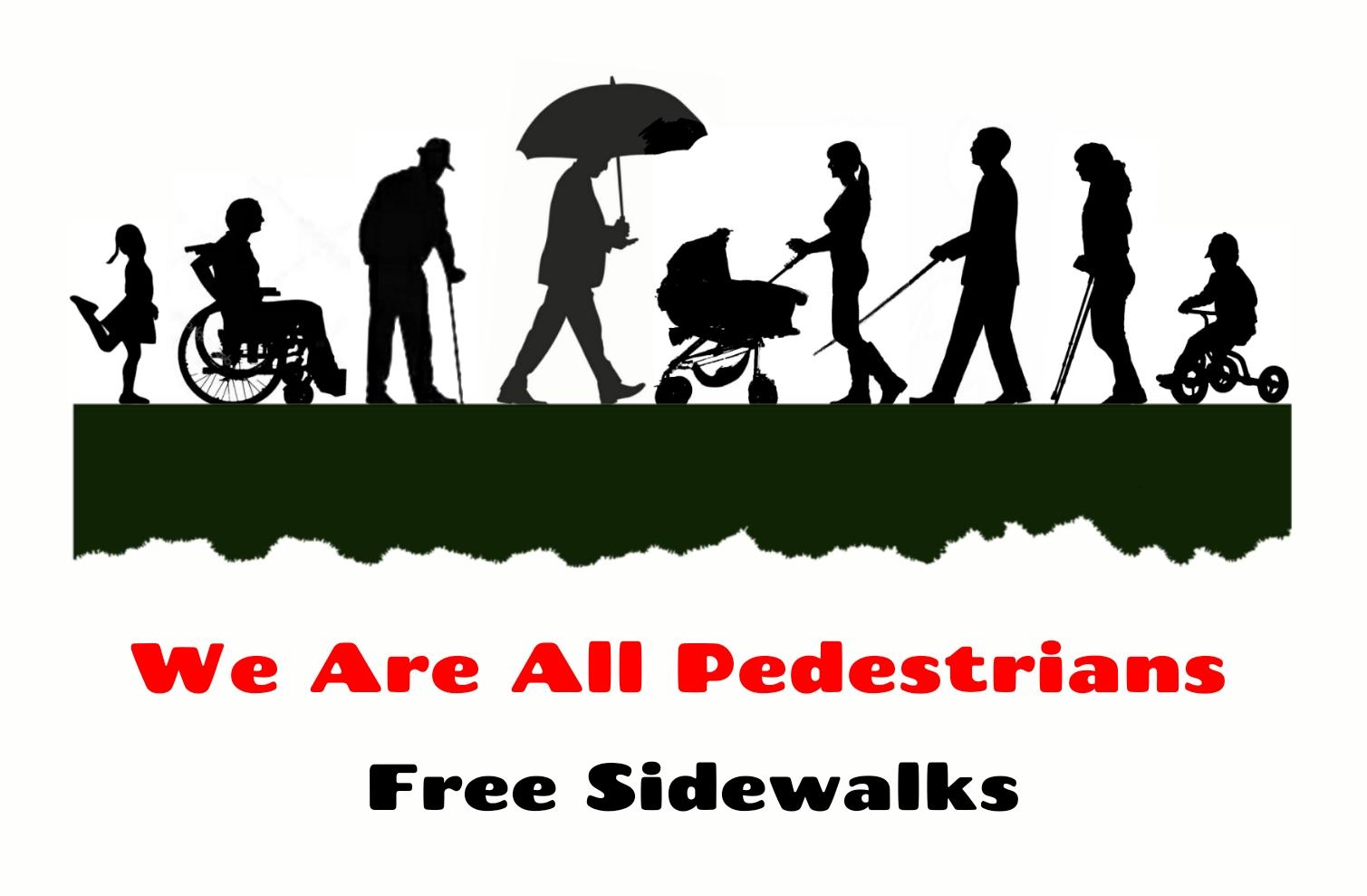 Free Sidewalks Estartit Pedestrians
